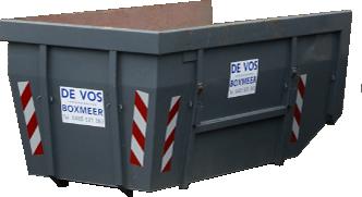10M³ Open Portaalcontainer